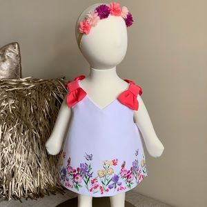 Janie and Jack Floral Top